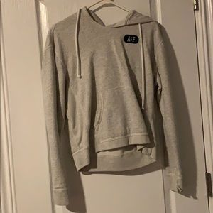 Abercrombie and Fitch Cropped Hoodie Womens
